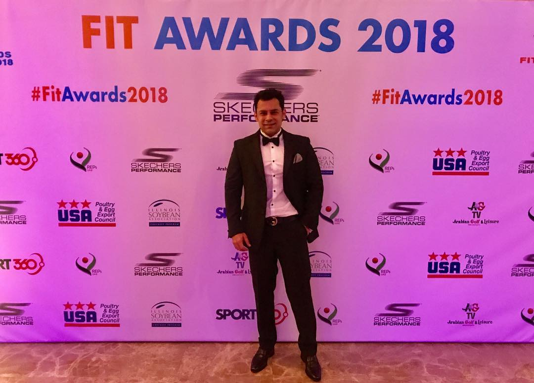 Abhinav Malhotra Dubai Fit Awards 2018 Top 10 Fitness Coach Personal Trainer Get Fit Now