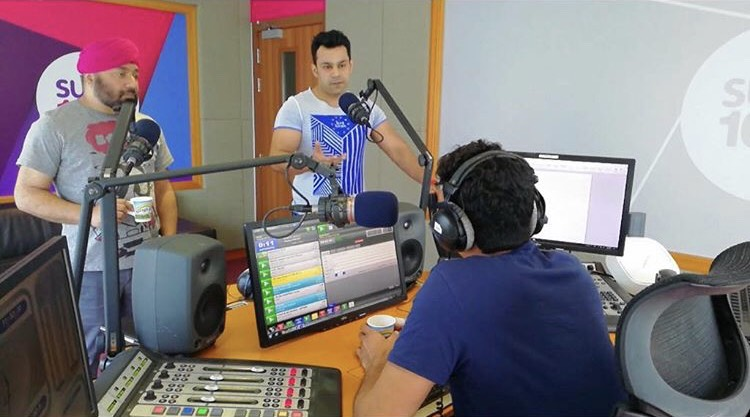 Dubai Top Fitness Trainer Abhinav Malhotra Chat Show with RJ Prince and RJ Vicky on Suno 102.4 FM on Nutrition and Fitness