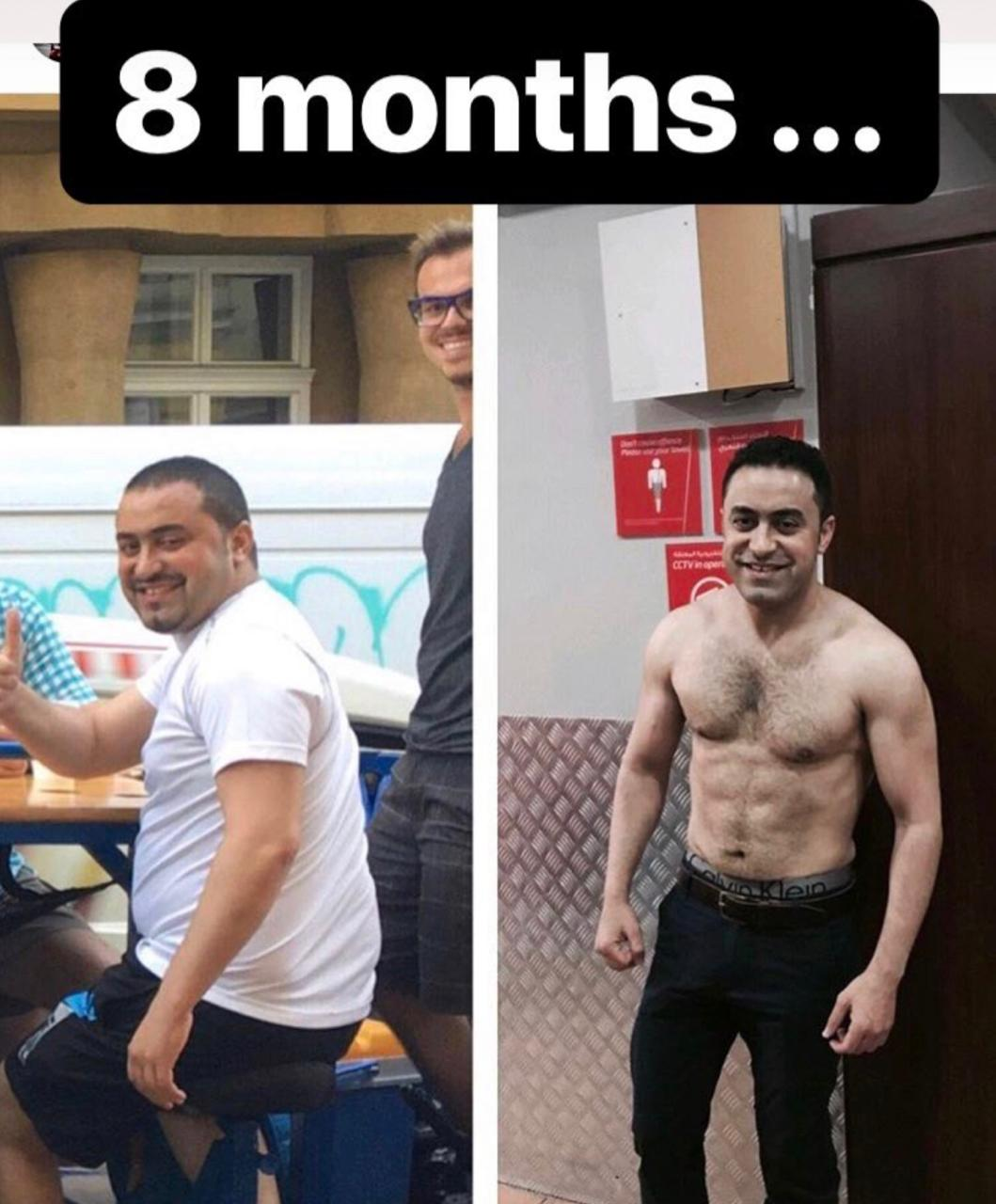 Client Transformation by Abhinav Malhotra The Best Personal Fitness Trainer in Dubai UAE